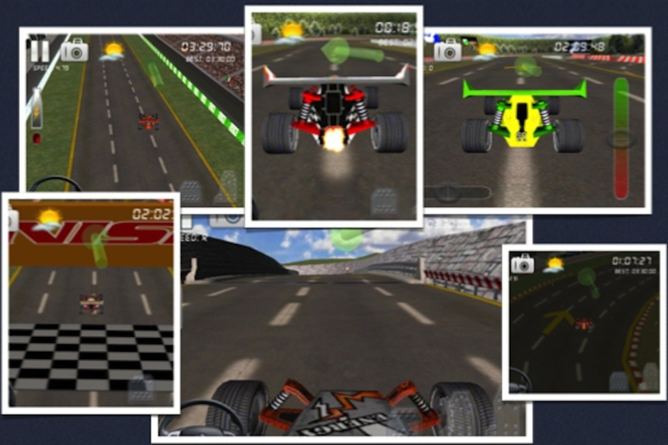 Screenshot Circuit Racer 3D Top Racing Game – Best Time To Race
